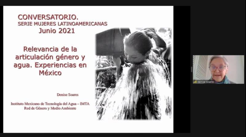 """Primer conversatorio del ciclo """"Mujeres Latinoamericanas"""""""
